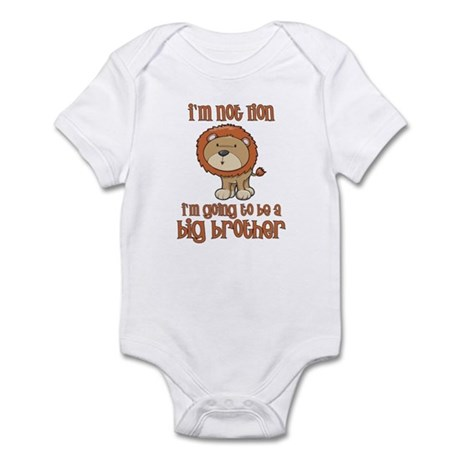 big brother t-shirts lion Infant Bodysuit