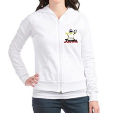 Tennis Super Star Fitted Hoodie