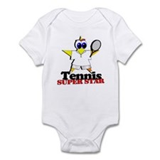 Tennis Super Star Infant Bodysuit