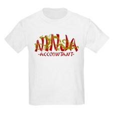 Dragon Ninja Accountant T-Shirt
