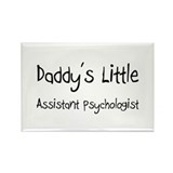 Daddy's Little Assistant Psychologist Rectangle Ma