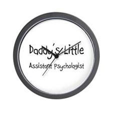 Daddy's Little Assistant Psychologist Wall Clock