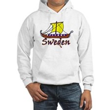 Viking Boat -1- Sweden Jumper Hoody