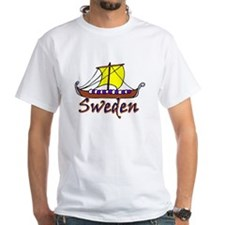 Viking Boat -1- Sweden Shirt