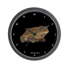 Funny Toads Wall Clock