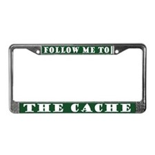 Funny Geocaching License Plate Frame