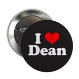 "I Love Dean 2.25"" Button"