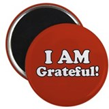 I AM Grateful! Magnet