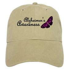 Butterfly Awareness 3 (Alzheimers) Baseball Cap