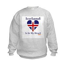 Iceland - Heart Sweatshirt