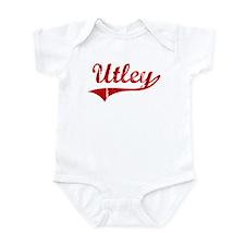Utley (red vintage) Infant Bodysuit