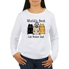 World's Best Cat Foster Dad T-Shirt