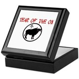 Year of the Ox Keepsake Box