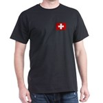 Swiss Flag Dark T-Shirt