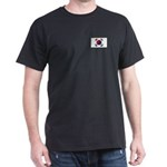 South Korean Flag Dark T-Shirt