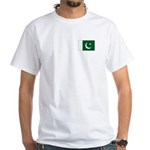 Pakistan Flag White T-Shirt