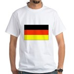 German Flag White T-Shirt