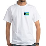 Bahamanian Flag White T-Shirt