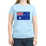Australian Flag Women's Light T-Shirt