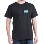 Argentina Flag Dark T-Shirt