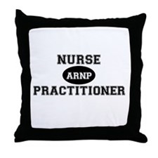 Advanced Regstered Nurse Prac Throw Pillow