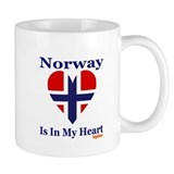 Norway - Heart Mug