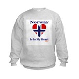 Norway - Heart Sweatshirt