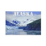 Beautiful Scenic Alaska Rectangle Magnet