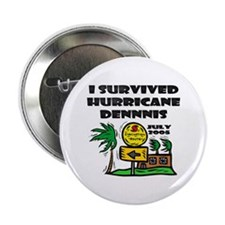 "Hurricane Dennis Evacuation 2.25"" Button (100 pack"
