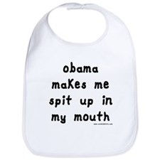 Obama Spit Up Bib