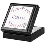 Collie Furever Keepsake Box