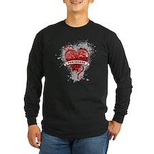 Heart Pekingese T