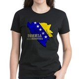 Flag Map of Bosnia Tee