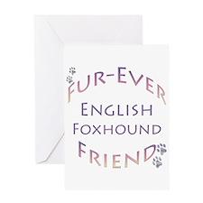 English Fox Furever Greeting Card