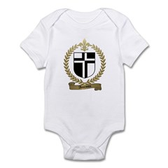 AUCOIN Family Crest Infant Creeper