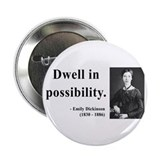 "Emily Dickinson 2 2.25"" Button"