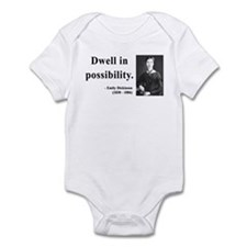 Emily Dickinson 2 Infant Bodysuit