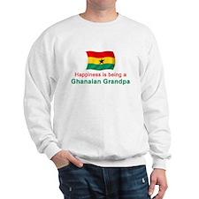 Happy Ghanaian Grandpa Sweatshirt