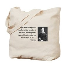 Emily Dickinson 1 Tote Bag