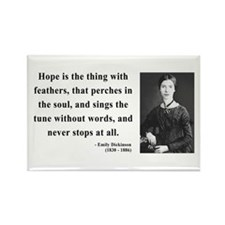 Emily Dickinson 1 Rectangle Magnet