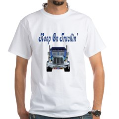 Trucker's White T-Shirt