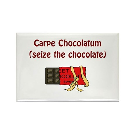 Chocolate Lover Rectangle Magnet (10 pack)