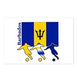 Barbados Soccer Postcards (Package of 8)