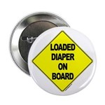 Loaded Diaper on Board - Button
