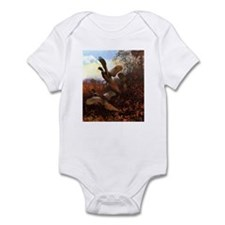 Pheasants Infant Bodysuit