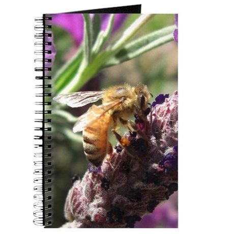 Bee on Flower Journal