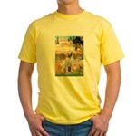 Garden Fiorito/ Spinone Yellow T-Shirt