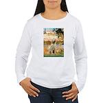 Garden Fiorito/ Spinone Women's Long Sleeve T-Shir