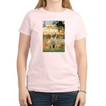 Garden Fiorito/ Spinone Women's Light T-Shirt