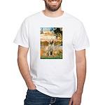 Garden Fiorito/ Spinone White T-Shirt